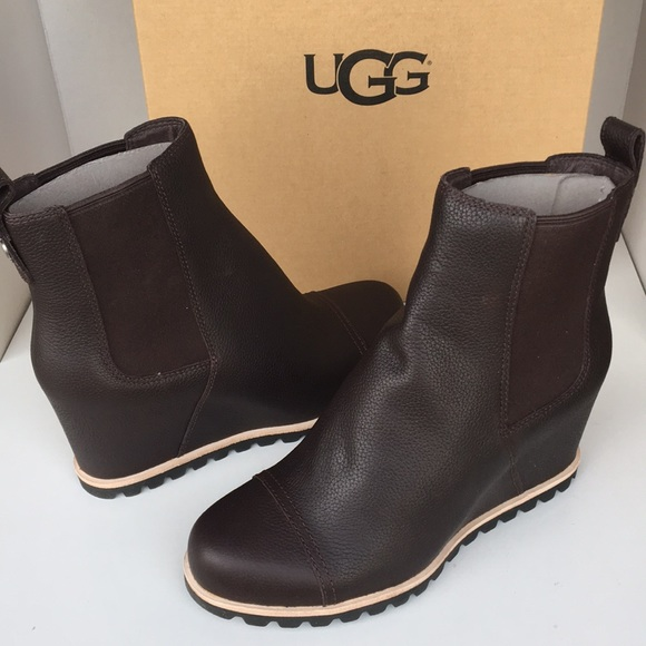 a74fc6c2f6ad ❤️New Ugg Stout Brown Pax Bootie Boots Sz 7.5 HOT!